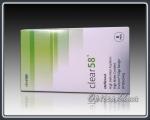 Контактні лінзи Clear 58 UV